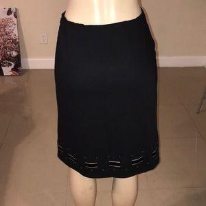 ANN TAYLOR light wool skirt